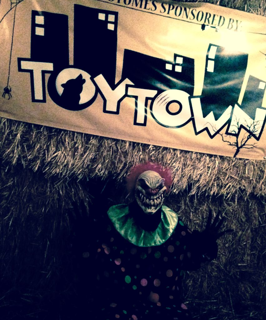 Twin Falls Corn Maze Toy Town Monster